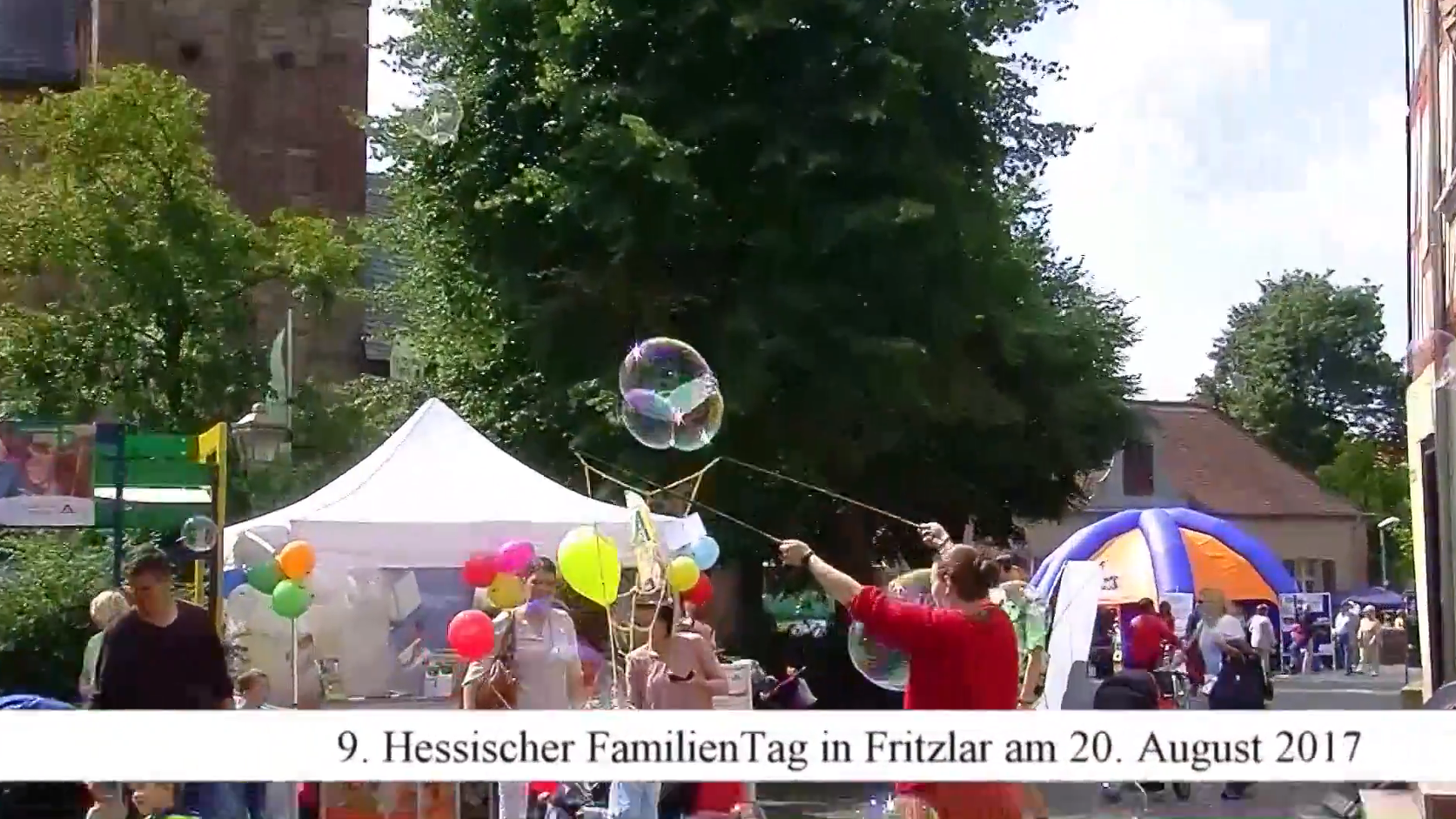 Video Familientag in Fritzlar